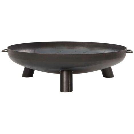 RedFire Fire Bowl Salo Black Steel 80 cm 81020 - Black