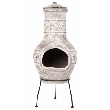RedFire Fireplace Acopulco Clay 86036 - Grey