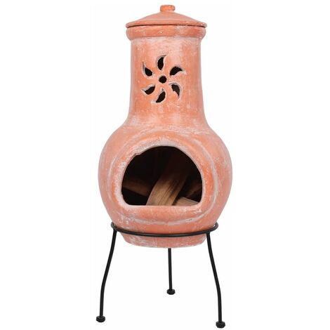 """main image of """"RedFire Fireplace Cancun Clay 86032 - Brown"""""""
