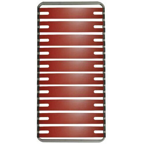 RedLine - Sommier 10 Lattes Doubles 90x190cm