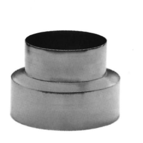Reduccion Tubo Estufa Galvanizada - 150-120 Mm Rg150120