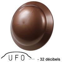 Réducteur acoustique UFO certifié -32dB - Ø230mm - Cuivre