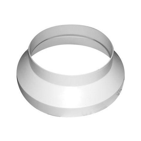 Réducteur de gaine PVC 125 - 100 mm- gaine de ventilation