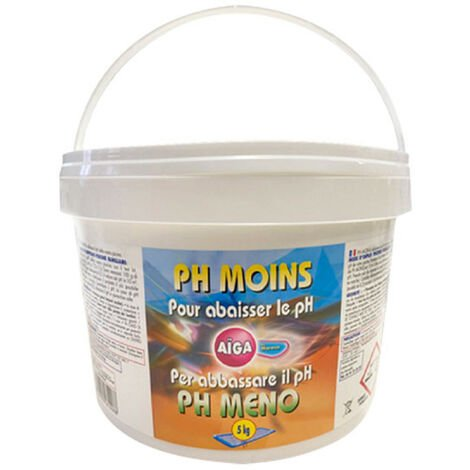 Reducteur de pH Aiga MAREVA pour piscine - 5Kg - 161008U