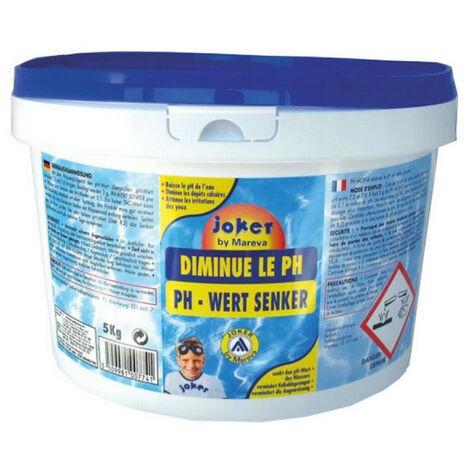 Réducteur de pH Joker MAREVA pour piscine - 5Kg - 100774U