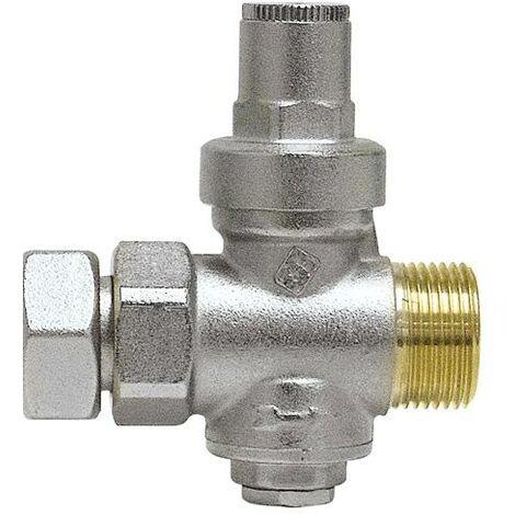 Réducteur de pression après compteur d'eau/Arrivée MF 20x27(3/4)