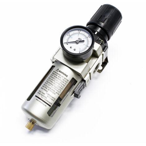 Réducteur de pression avec filtre et manomètre Régulateur de pression