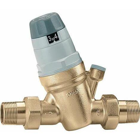 """Réducteur de pression avec raccord manomètre 1/4""""F Caleffi 5350"""