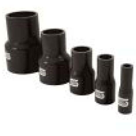 Reducteur Durite Silicone Droit - D70-60mm - Noir SiliconHoses