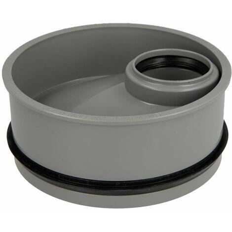 Réducteur HT excentrique DN 160/50, pour tuyaux HT et KG