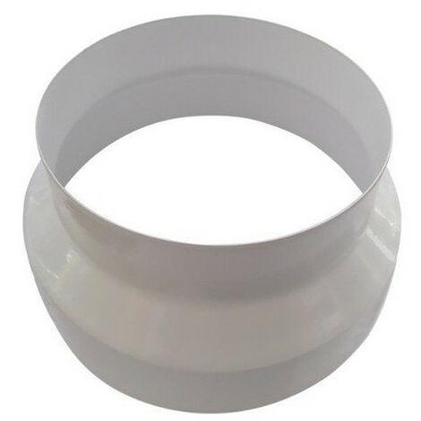 Réducteur plastique 150mm -160mm PVC conduit ventilation