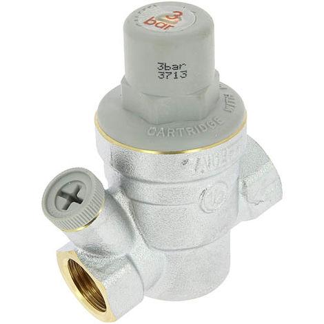 Réducteur pression sans mano eau froide - 16bar - Femelle Femelle 1/2