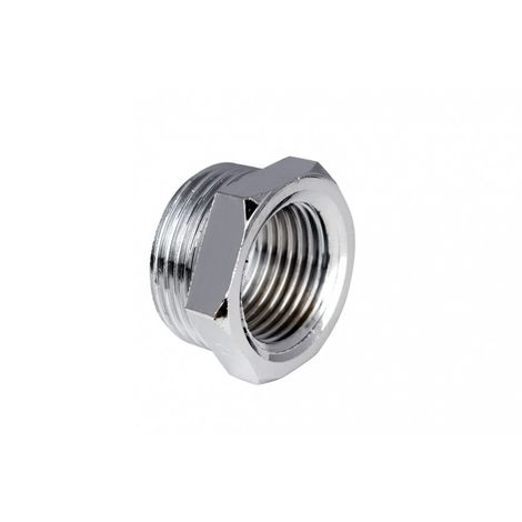 Reduction chrome plated 1 '' x 3/4 '&#