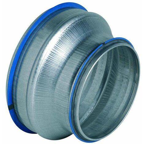 Réduction conique concentrique galva avec joints RCC à joints