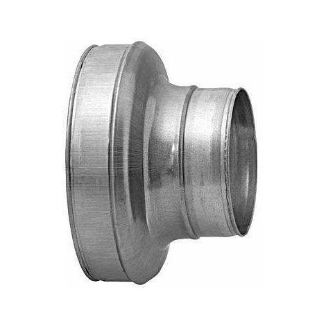 Réduction conique concentrique Galva D200/80 - ECONONAME - RCCGALD200/80