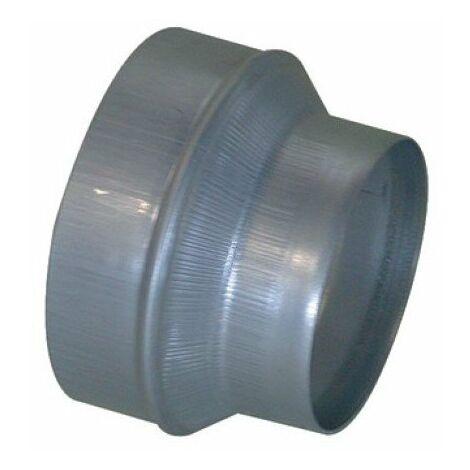 Réduction Conique Concentrique galva: RCC - 125/80mm