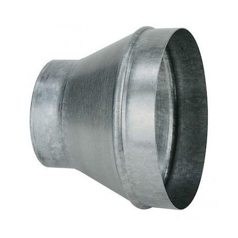 Réduction conique concentrique - RCC 250/125 - Ø 250mm à 125mm - Galva standard