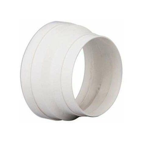 Réduction conique PVC 100/80 - RED 100/80 P UNELVENT - 860407 Réduction conique PVC 100/80