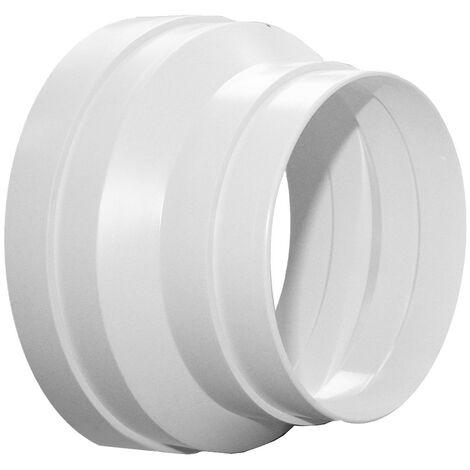 Réduction conique pvc S&P, Diam.160/125 mm