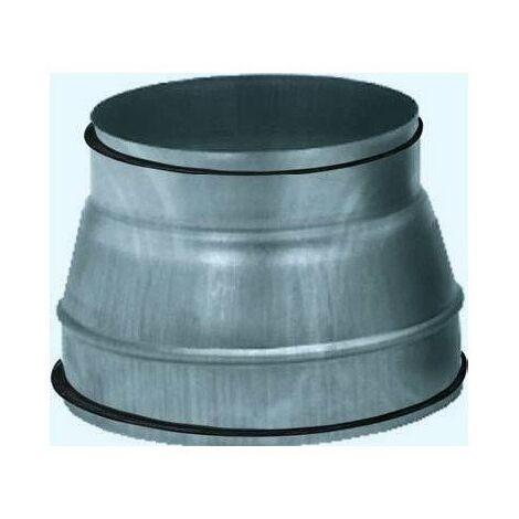 Réduction conique Véloduct REDV - Diamètre A : 250mm - Diamètre B : 125mm