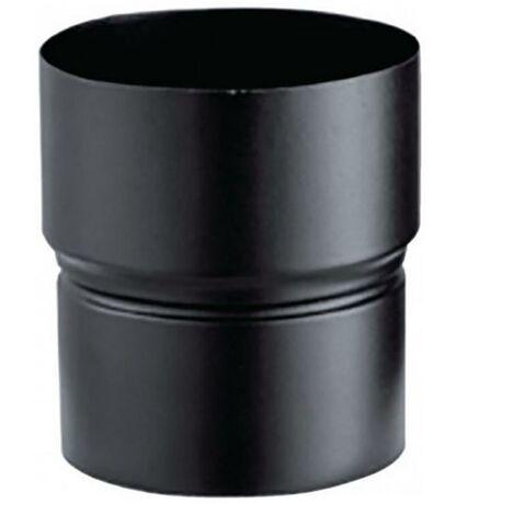 Réduction émaillée pour poêle à bois - Réduction RD - Diamètre : 150 F raccordement buse - Diamètre : 153 - Couleur : Noir Mat