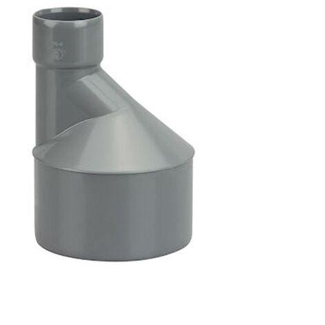 Réduction excentrée en PVC - Diamètres 125x100