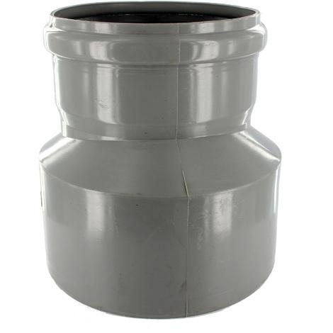 Réduction excentrée PVC Assainissement Ø125x110