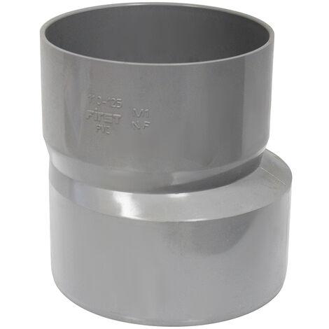 Réduction excentrée - PVC - Mâle Femelle Ø110/125 - First Plast