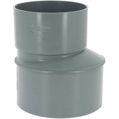 Réduction excentrée PVC mâle-femelle Ø160-125