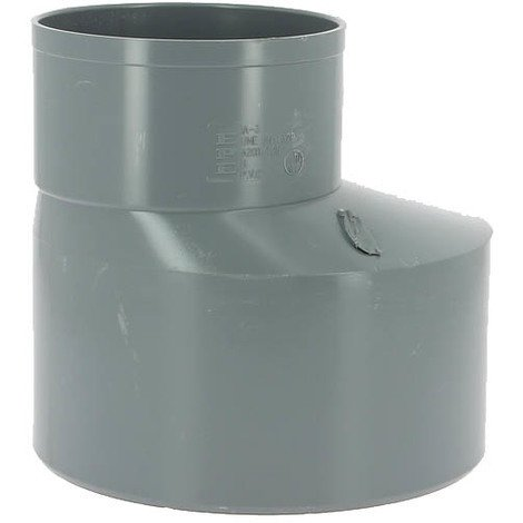 Réduction excentrée PVC mâle-femelle Ø200-125