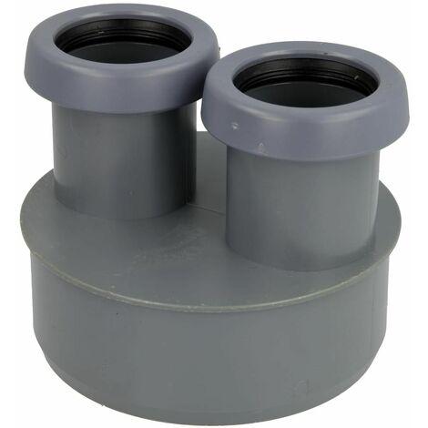 Réduction HT DN110/40/40 pour tuyaux HT et KG