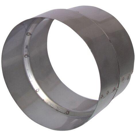 Réduction inox Ø125/118mm - ANJOS : 2766