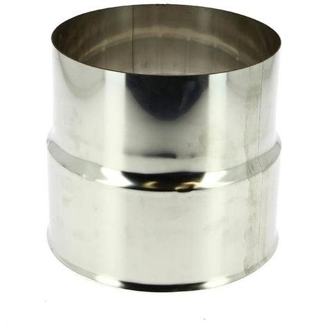 Réduction inox pour tubage flexible Ø161/125