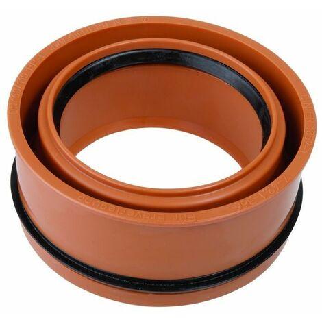 Réduction intérieure en PP pour tubes HT et KG - concentrique DN 160x125