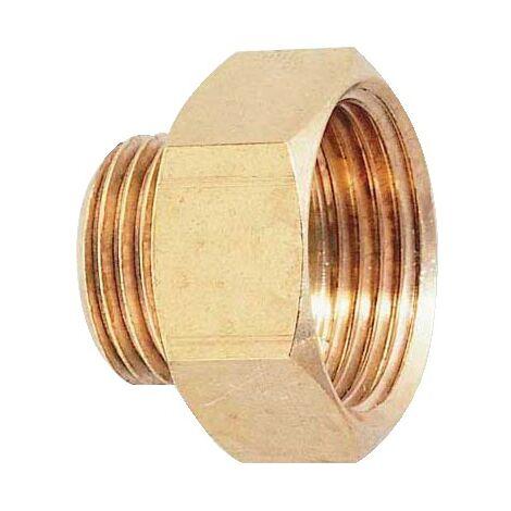 Réduction laiton brut FM 6pans joint plat - 246G