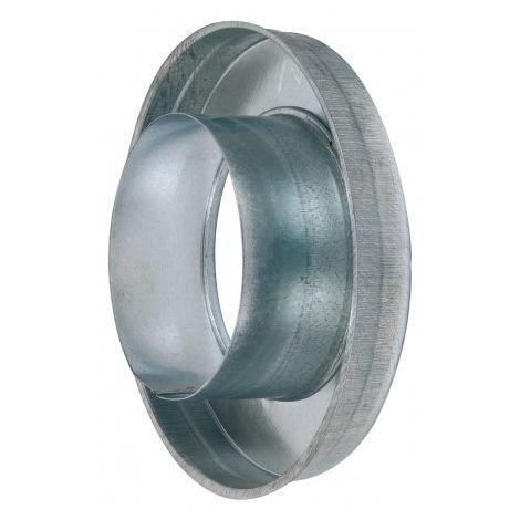 Réduction plate concentrique - RPC 200/125 - Galva - Ø 200 mm