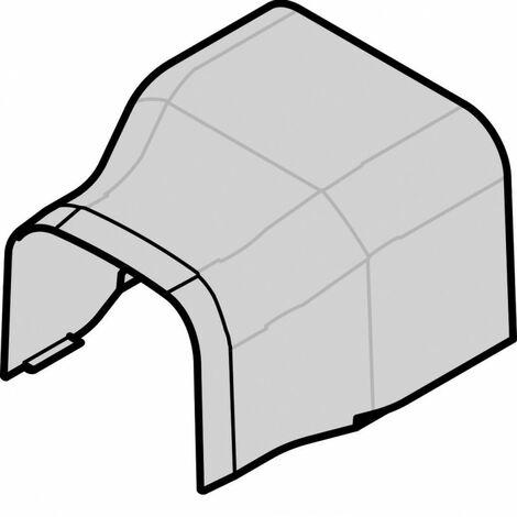 Réduction pour CLM 75x125 vers 90x75 IK08-IK10 PVC RAL 9010 blanc paloma (CLM7512562)