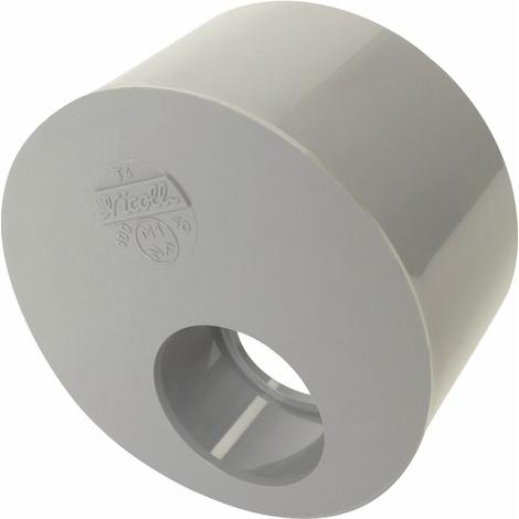 Réduction PVC excentrée MF 125-40 Nicoll