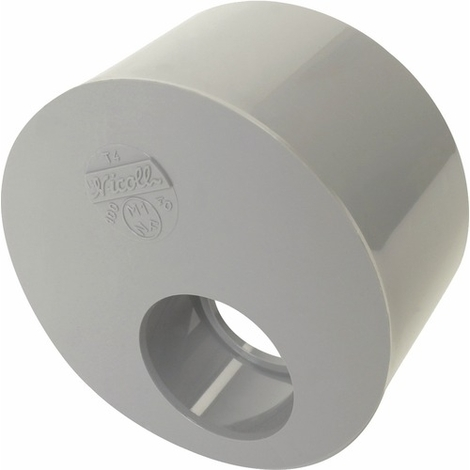 Réduction PVC excentrée MF 125-50 Nicoll