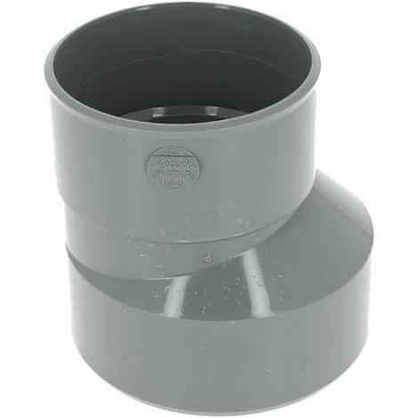 Réduction PVC Vidange excentrée Mâle - Femelle