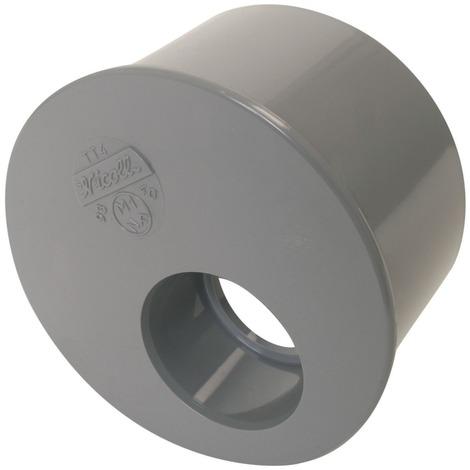 Réduction PVC vidange incorporee MF 110x40