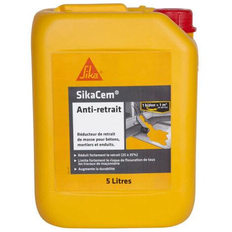 Reductor de contracción para hormigón y mortero SIKA SikaCem Anti-retracción - 5L