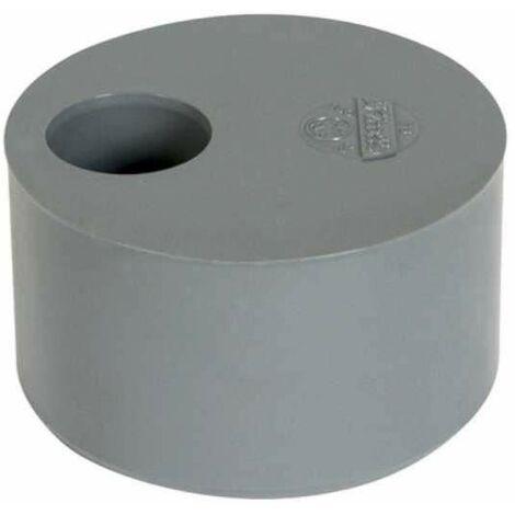 Reductor de PVC incorporado, macho 80mm, hembra 40mm