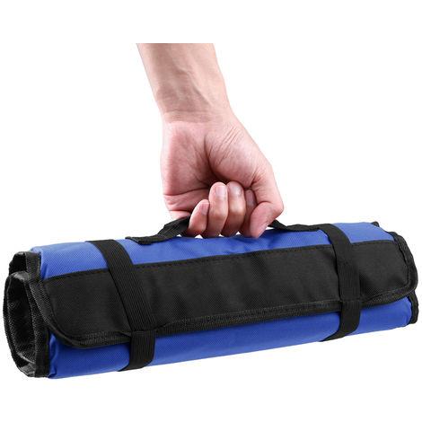 Reel tool bag Electrician bag Canvas tool bag Oxford cloth tool bag Blue