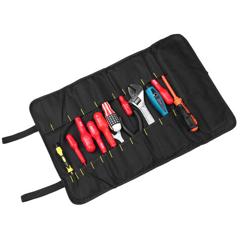 Reel tool bag Electrician bag Canvas tool bag Oxford cloth tool bag Red