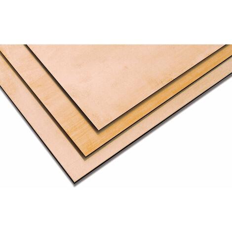 Reely Brass sheet 400x200x0.5mm