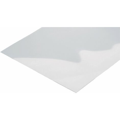 Reely Clear Polycarbonate Sheet 400 x 500 x 0.75mm