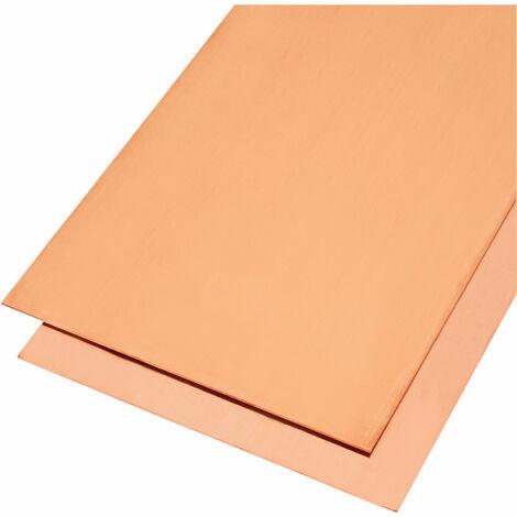 Reely Copper Sheet 400 x 200 x 1mm (L x W x D)