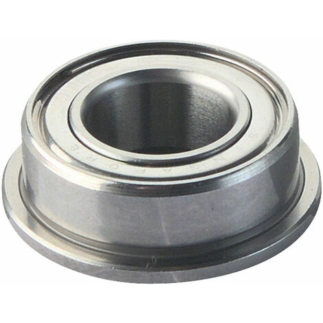Reely Radial Steel Ball Bearing with Flange 12mm OD 8mm Bore 3.5mm Width