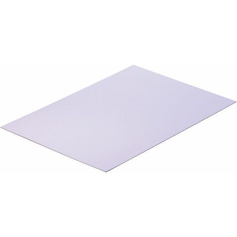 Reely White polystyrene sheet 330x230x1mm